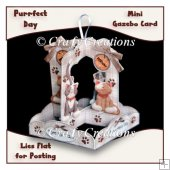 Purrfect Day Mini Gazebo Card