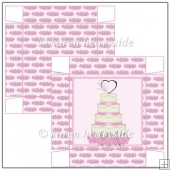 Pink Wedding Anniversary 5x5 Box