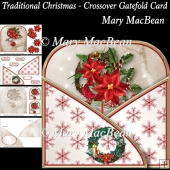 Traditional Christmas - Crossover Gatefold Card