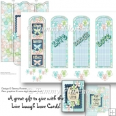 Live Laugh Love Bookmarks Gift Set