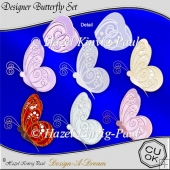 Designer Butterfly Set