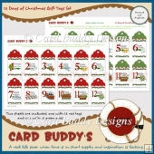12 Days of Christmas Gift Tags Set