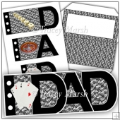 Dad 'The Gambler' Word Book Set
