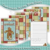 Our Holiday Recipe Book/ Mini Diary