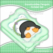 Snowbuddies Penguin Notelet Set