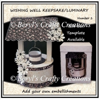 Wishing Well Keepsake/Luminary No 1