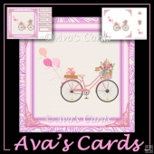 Fly Away Bike Card