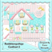 Bumble Berry Cottage Card Front 2