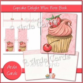 Cupcake Delight Mini Notebook