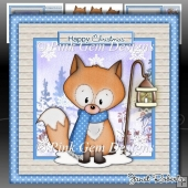 Christmas Freddy Fox Mini Kit