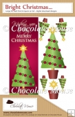 Large DL Christmas Tree Card - Portrait format