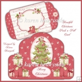 Heartfelt Xmas Push N Pull Card