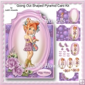 Going Out Shaped Pyramid Card Kit