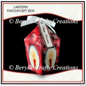 Lantern Shaped Gift/Favour Box