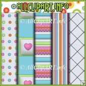 Happy Day Commercial Use Digital Papers