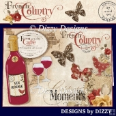 French Country Card Kit