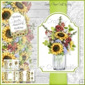 Mason Jar of Flowers 5