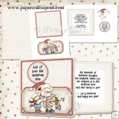 RTP Snow Much Love - Pop Out Plate Card(Retiring in August)