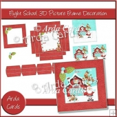 Flight School 3D Picture Frame Decoration