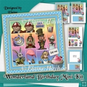 Wonderland Birthday Mini Kit