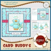 Christmas Tweetings 8x8 Card Front
