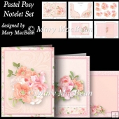 Pastel Posy - Notelet Set