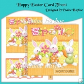 Hoppy Easter Card Front