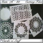 Mats - 76 - 80 Cutting Files