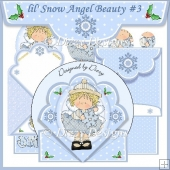 lil' Snow Angel Beauty Spring Card #3