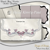 Clutch Bag Voucher Wallet Template