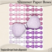 Shimmer Paper Bows 2