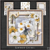 Vintage Shabby Chic Blossom Card Kit 1160