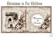 Christmas is for Children Insert / Topper