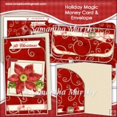 Holiday Magic Money Card & Envelope