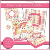 Believe In Unicorns Card & Gift Box