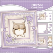Night Owl Card Front & Insert Panel