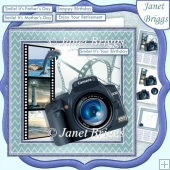 CAMERA SNAPSHOTS ALL AT SEA 7.5 Decoupage & Insert Mini Kit