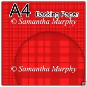 ref1_bp662 - Red Tartan Checks