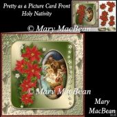 Pretty as a Picture Card Front - Holy Nativity