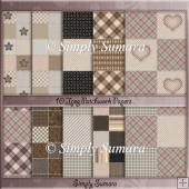 Patchwork Papers Set 1