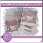 The Perfect Cuppa Teabag Stacker Boxes