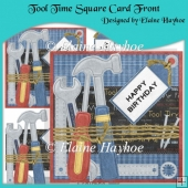 Tool Time Square Card Front