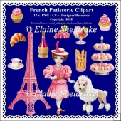 French Patisserie - CU - PNG Clipart - Designer Resource Kit