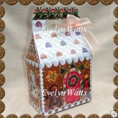 Gingerbread House Gift Box