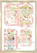 Spring Breeze Side Opening Pocket Greeting Card Set