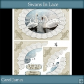 Swans In Lace