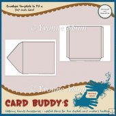 Envelope Template to Fit a 7x7 inch Card � CU/PU