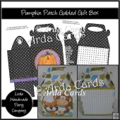 Pumpkin Patch Gabled Gift Box