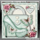 Green Shoes & Handbag Mini Kit