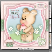 Love You Beary Much Mini Kit With Ages 1 to 2 Years